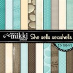 She sells seashells Paper Pack