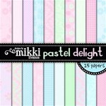 Pastel Delight Paper Pack