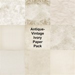 Antique Vintage Ivory Paper Pack