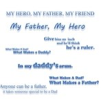 Fathers day Title