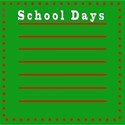 school days note