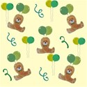 Green party bear background