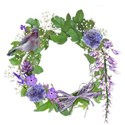 wisteria dreams_cluster frame circle
