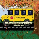 School Bus Collage