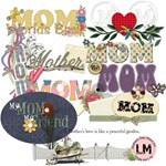 Mothers Day Word Art