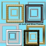 Gold frames and Silver Frames square