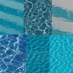 Swimming Pool Azure Blue Water Backgrounds