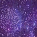 purple fireworks background