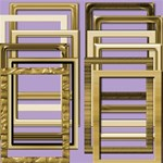 Gold Portrait Frames