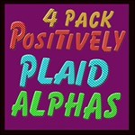 4 pack plaid alphas combo pack + extras