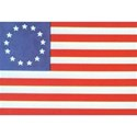 American Betsy Ross Flag background
