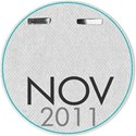 Circle date tag NOV