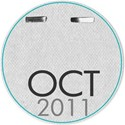 Circle date tag OCT