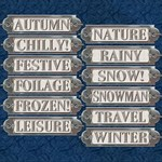 Metal Word Plates #6