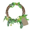 grape wreath cluster