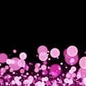 Pink Confetti Background