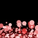 Red Confetti Background