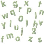 Green dot Alphabets