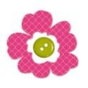 cute as a button_button flower copy