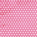 cute as a button_hot pink button paper