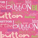 cute as a button_hot pink word paper