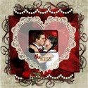 csb_8x8 Red Black Ivory Wedding