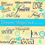 Dreams MEGAPACK+WordArt