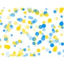 blue and yellow circles