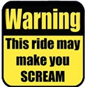 warningridescream