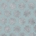Winter Speckled Snowflakes bg