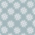Winter Blue Snowflakes bg