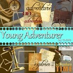 Young Adventurer Pack+WordArt