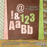 Pillaloo Alphabet by Mikki