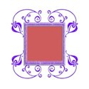 ornate sq frame