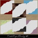 Curled Paper Overlays Cover 1