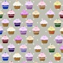grey cupcake background