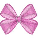 Pink single bow