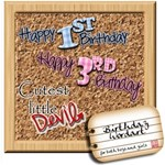 Birthday Wordart