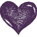 HeartDkPurple
