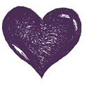HeartDkPurple2