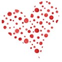 heart dotted