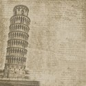 paper leaning pisa muted