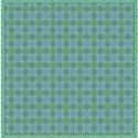 green blue tartan jewelled  layering paper