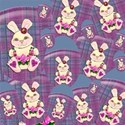 new bunnie  layering paper