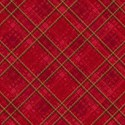 new red tartan  layering paper