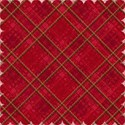 new red tartan background paper