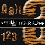 Tiger Alphabet by Mikki