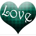 green love heart2