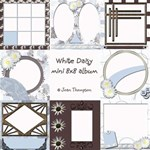 White Daisy Quick Pages