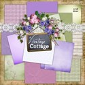 00 kit cover vintage cottage papers